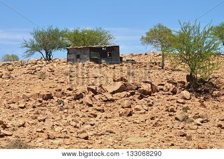 Suburbs Windhoek poor family home Namibia Africa