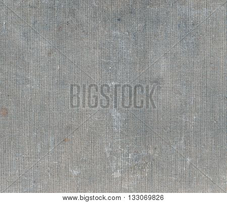 Weathered Grey Canvas Texture.