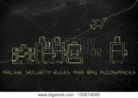 Airline Security Rules And Bag Allowances: Generous Or Strict