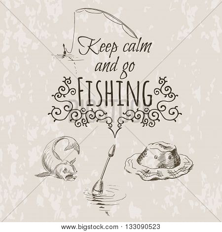 Keep Fishing Sketch