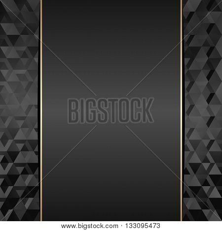 black background with texture and copy space