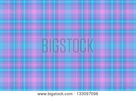 Illustration of pink and cyan blue checkered pattern