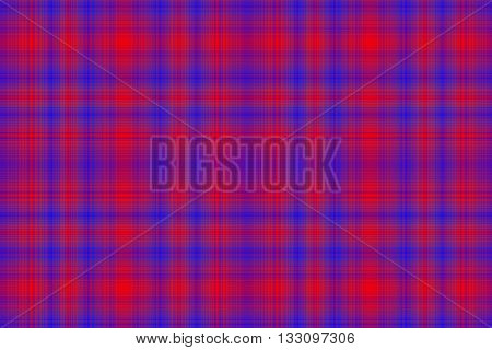 Illustration of red and dark blue checkered pattern
