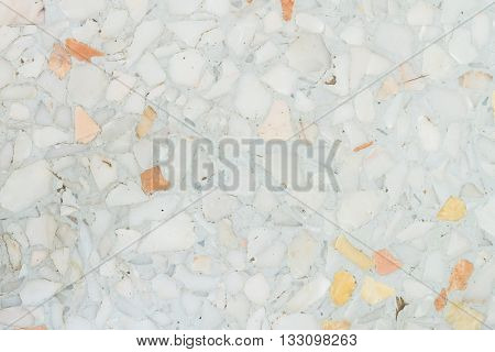Closeup surface marble patter at the marble floor texture background