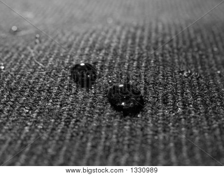 Drops On Fabric
