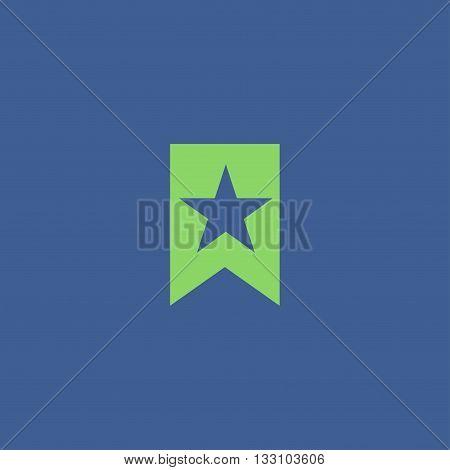 Vector Web Bookmark Ribbon Icon