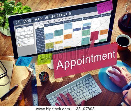 Appointment Appointing Arrangement Calendar Concept