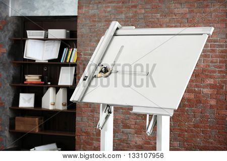 Engineering panel board indoors