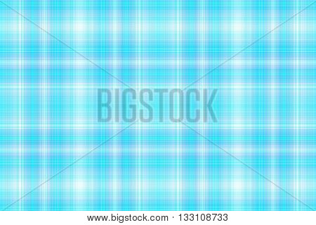 Illustration of white and cyan blue checkered pattern
