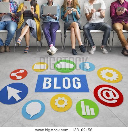 Blog Blogging Content Website Online Concept