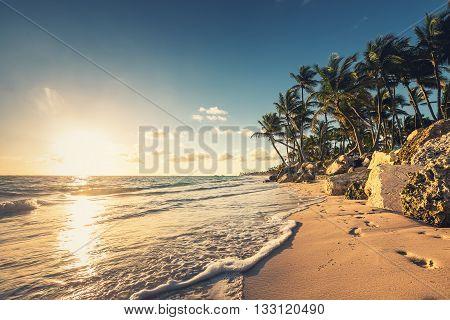 Carribean Sea, Beautiful Panoramic View
