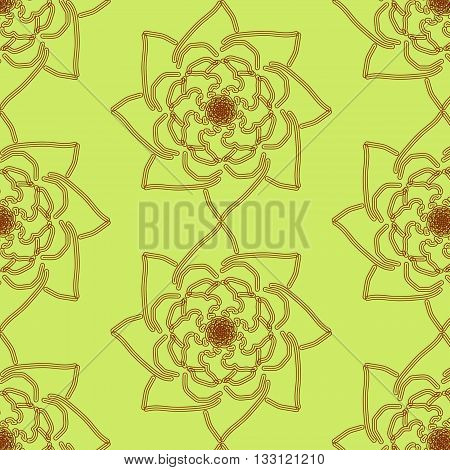 background for decoration and design with floral motifs Some of the elements. Floral pattern
