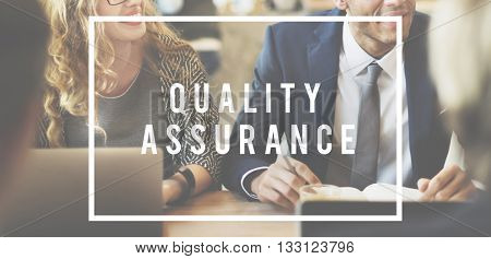 Performance Level Quality Assurance Business Concept