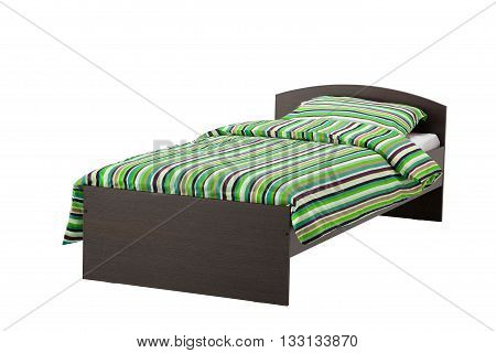 Bed Isolated On White