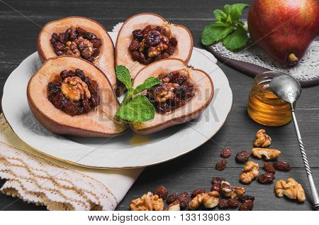 Sweet Baked Pear