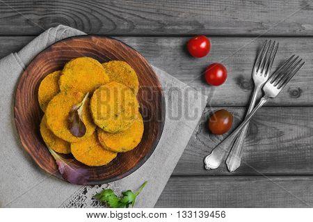 Vegetarian Food Vegetable Cutlets