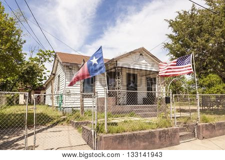Residential house in Texas United States of America