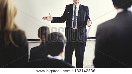 Business People Meeting Conference Seminar Concept