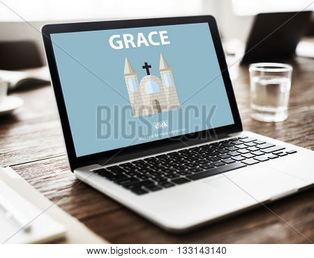 Grace Hope Poise Spiritual Worship Faith God Concept