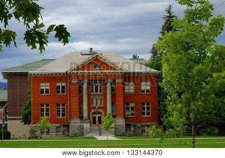Rankin Hall has been a landmark on the University of Montana campus in Missoula since 1909.