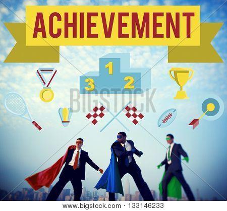 Achievement Accomplishment Vision Development Concept