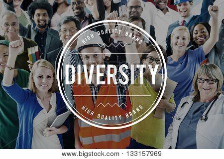 Diverse Diversity Ethnic Ethnicity Society Variation Concept