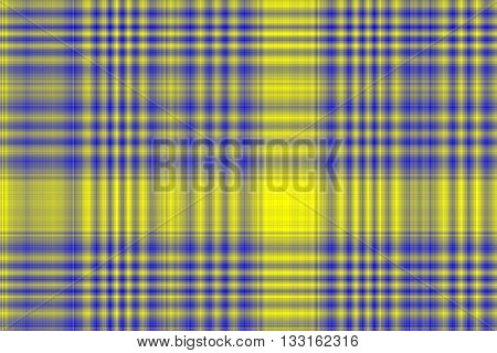 Illustration of dark blue and yellow checkered pattern
