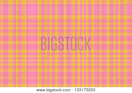 Illustration of pink and yellow checkered pattern