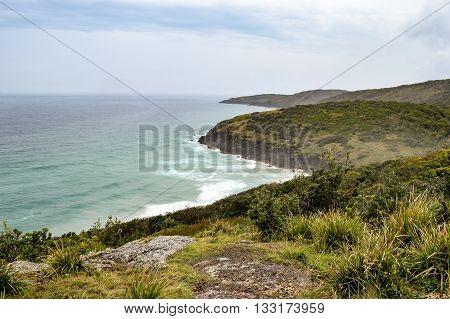 Coastline at 'Hat Head' - on the east coast of Australia
