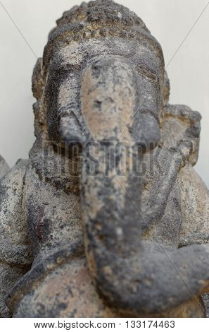 Head of The Ganesha Statue 8th - 10th century