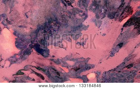 Abstract Marble Spring Colorful Texture Art Background. Blue and Pink Color. Colorful marble effect of paint and paper. Paint texture background. Splatter Paint Splash background textures.