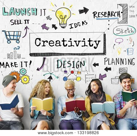 Creativity Ideas Imagination Skill Solution Concept