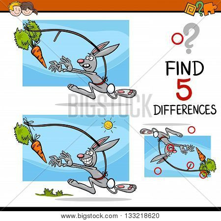 Differences Preschool Activity