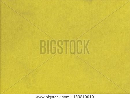 Texture of yellow fabric or surface of textiles in close up picture for the design background.