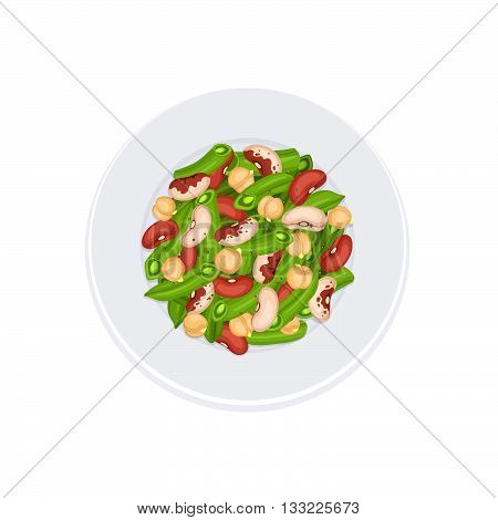 Fresh Salad Isolated