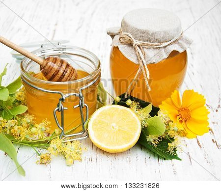 Jars With Honey