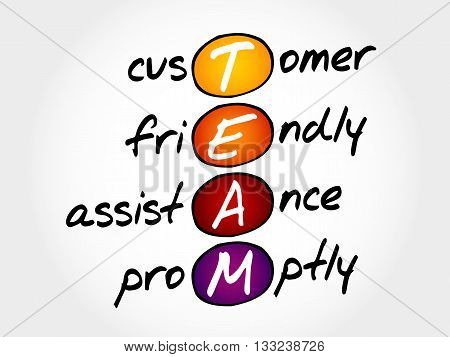 Team - Customer, Friendly, Assistance