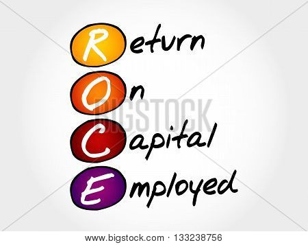 Roce - Return On Capital Employed