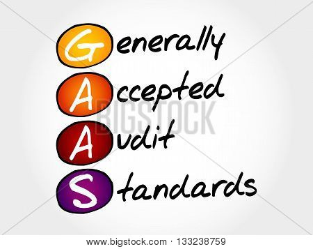 Generally Accepted Audit Standards