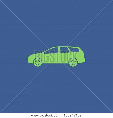 wagon Car icon. concept illustration for design.