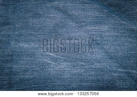 Close up of beautiful japan denim jean texture.