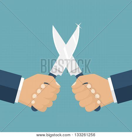 Fight With Knives
