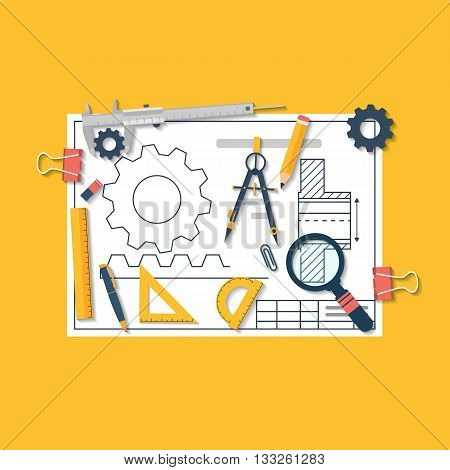 Engineering Vector Illustration