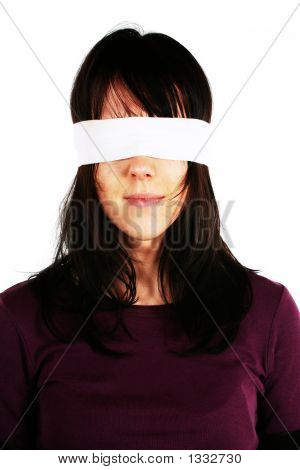 Blindfolded Woman - Censorship