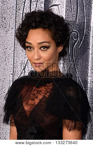 LOS ANGELES - JUN 6:  Ruth Negga at the Warcraft Global Premiere at TCL Chinese Theater IMAX on June 6, 2016 in Los Angeles, CA