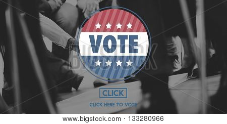 Vote Voting Polling Election Concept