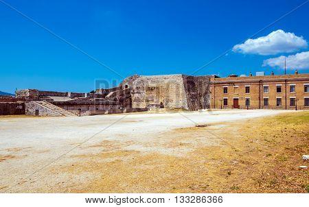 Old Fortress In Kerkyra, Corfu Island
