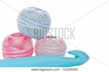 Giant Crochet Hook And Thread