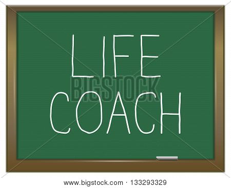 Life Coach Concept.