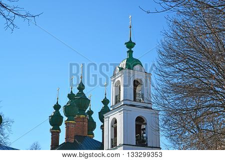 Church of the Annunciation and the Ascension Cathedral in Yaroslavl, Russia